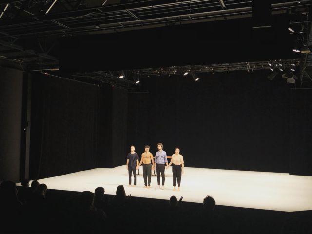 Représentation professionnelle de la pièce AMOUR-S de Radhouane El Meddeb cet après midi à POLE-SUD. Ça fait du bien ! 😊